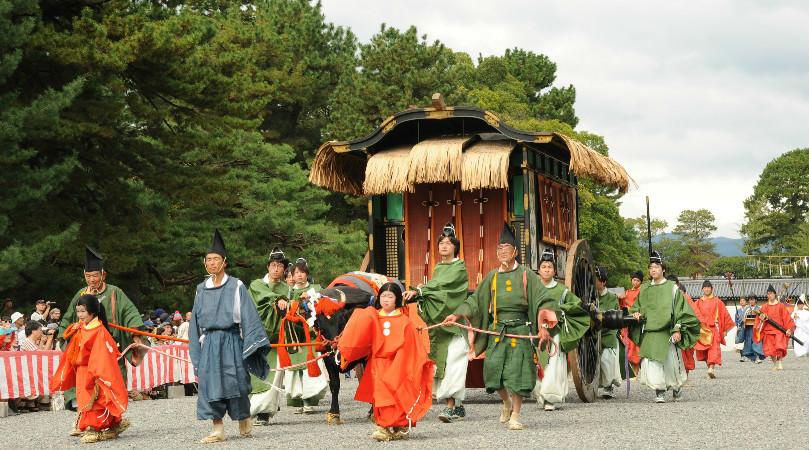 Join the Jidai Matsuri (festival)
