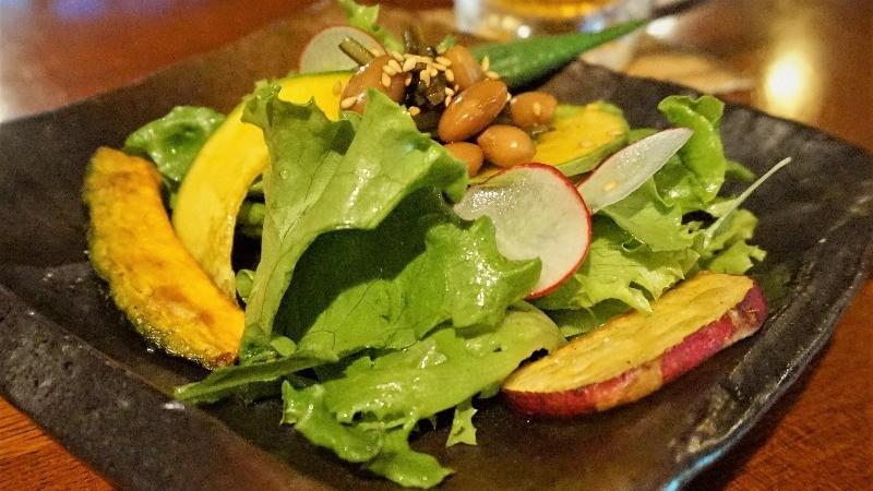 Shishin samurai salad