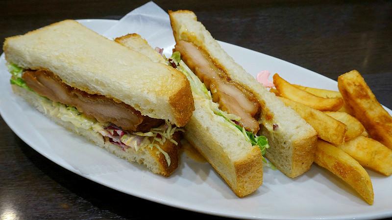 Teriyaki Chicken Sandwich with Toast