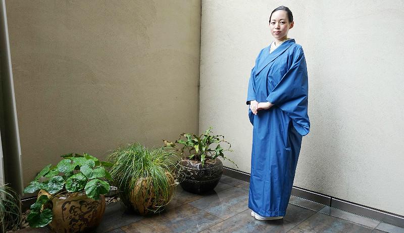 Kimono Raincoat