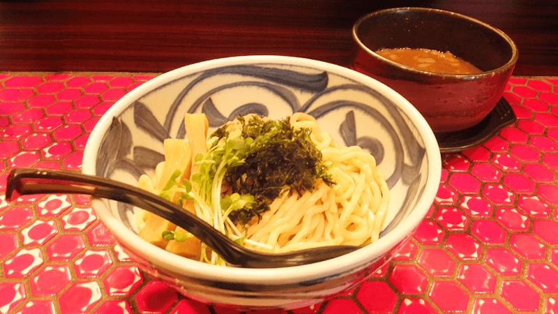 海鮮醬油沾麵(一般分量)