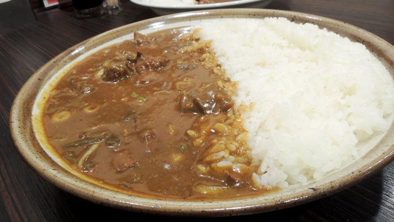 Curry with stewed beef gristle (Gyu-suji Nikomi Curry)