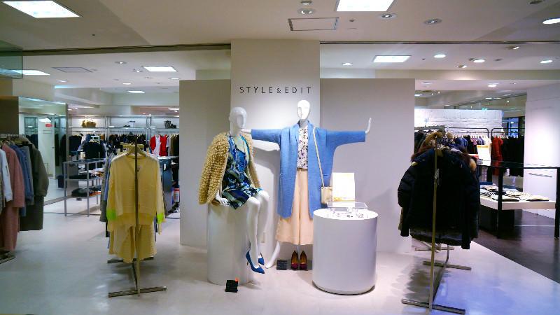 二樓則是時尚品牌區