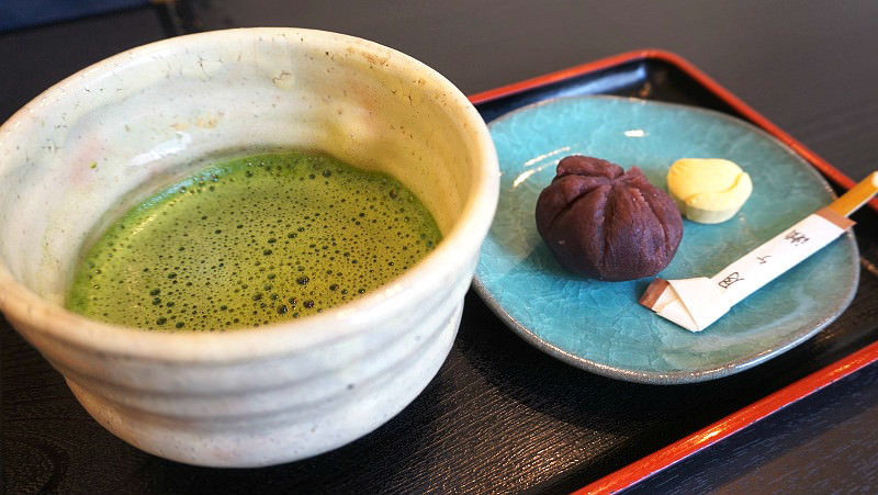Matcha and Sweets Set