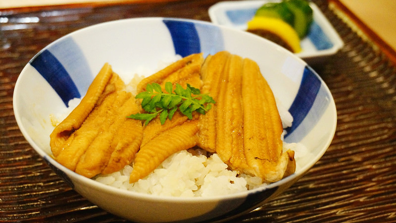 Eel Donburi (only winter)