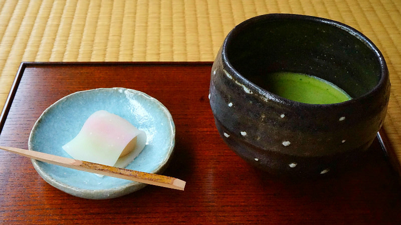 Seasonal Japanese Sweets with Matcha