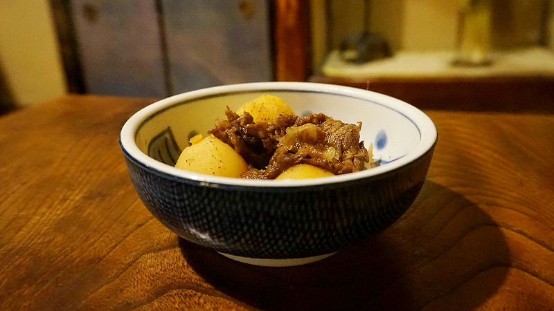Niku-jaga (meat and potato stew)