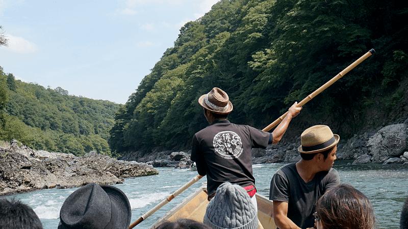The Movements Of The Hozu-gawa River Boatmen