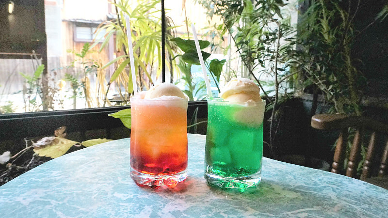 Cream soda (red and green)
