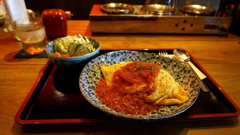 Omutaisu 雞肉飯(蛋包飯)
