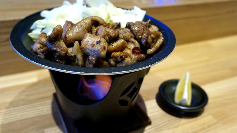 Oyadori yaki (matured chicken)