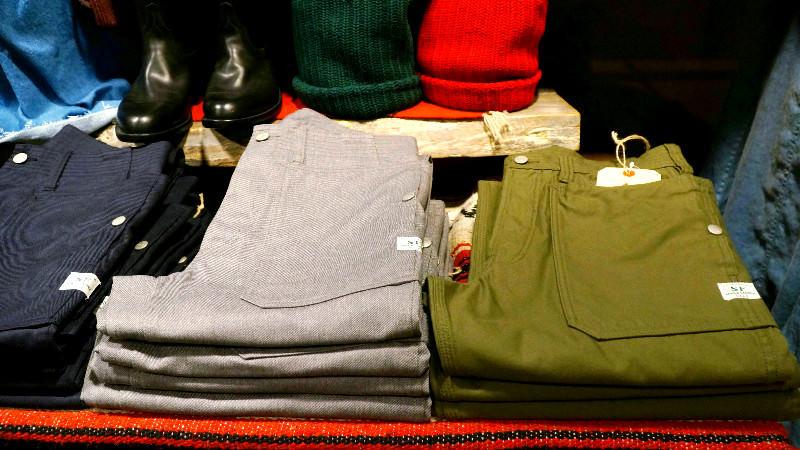 SASSAFRAS' pants (Kyoto brand)