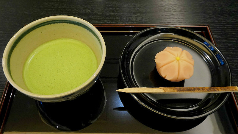 Matcha and Seasonal Namagashi