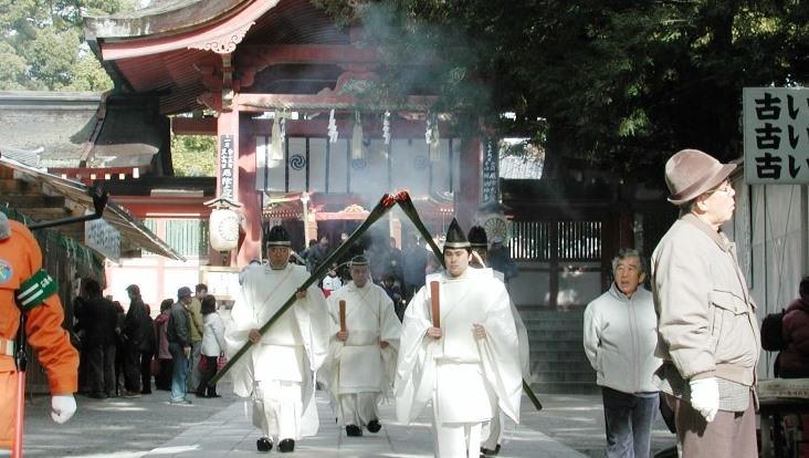Joka-sanshin procession