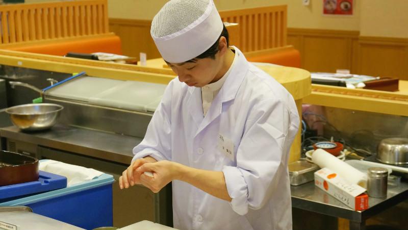 Sushi lesson
