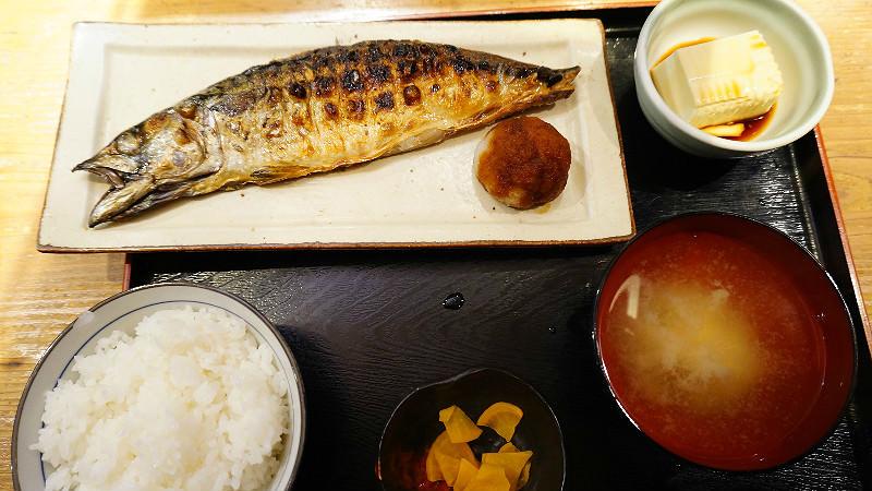 本日烤魚定食
