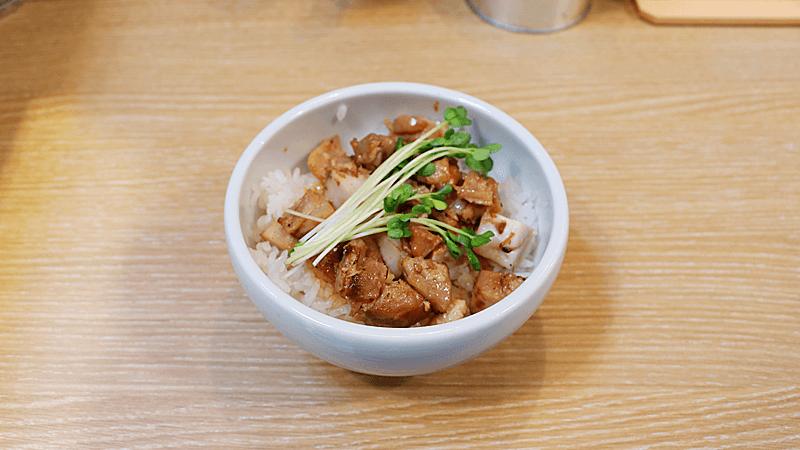 雞肉豬肉奶油飯