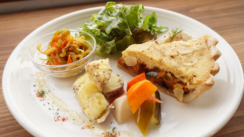 法式鹹派午餐