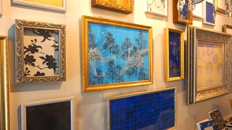 Framed karakami