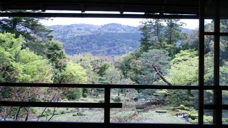 View From A Second Floor Of The Omoya