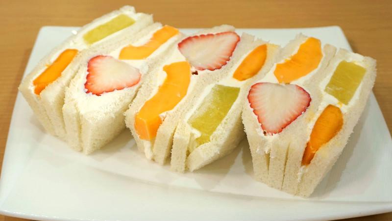 Royal Fruit Sandwich
