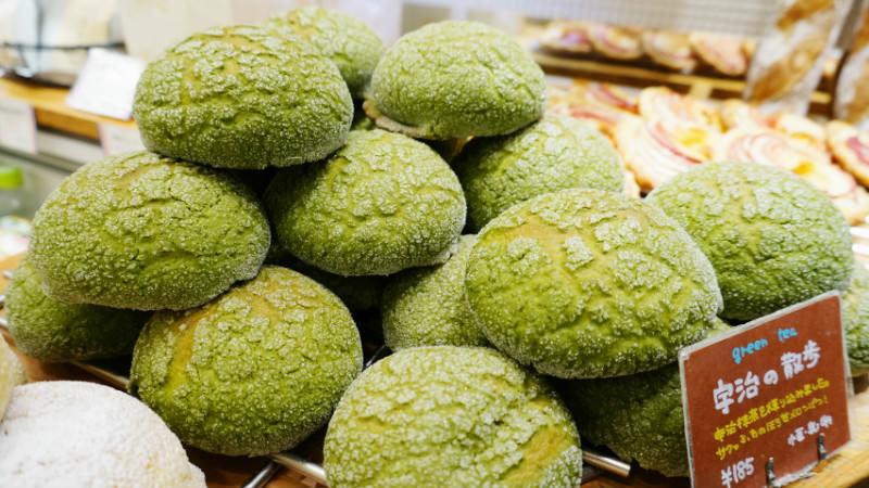 宇治散步麵包(綠茶)