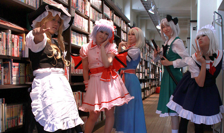 Enjoy watching the cosplayers