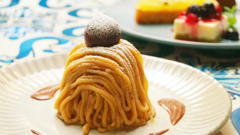 The hottest topic in Japan right now! A Mont Blanc cake with a best-before-date of 10 minutes!