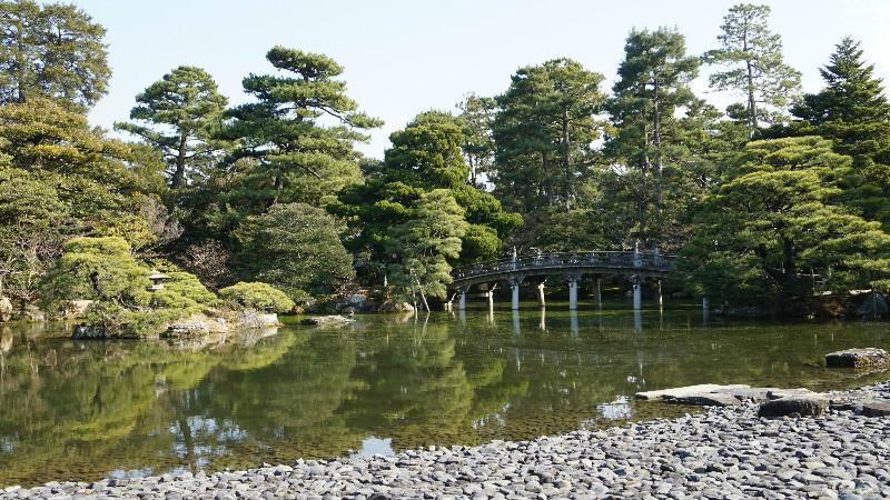 京都御所內的庭園