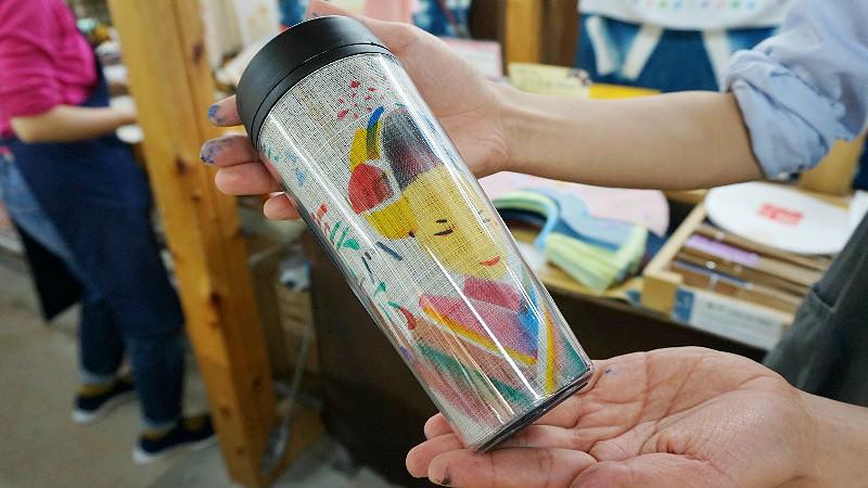 帶著您的原創京友禪染紀念品一起享受京都風光