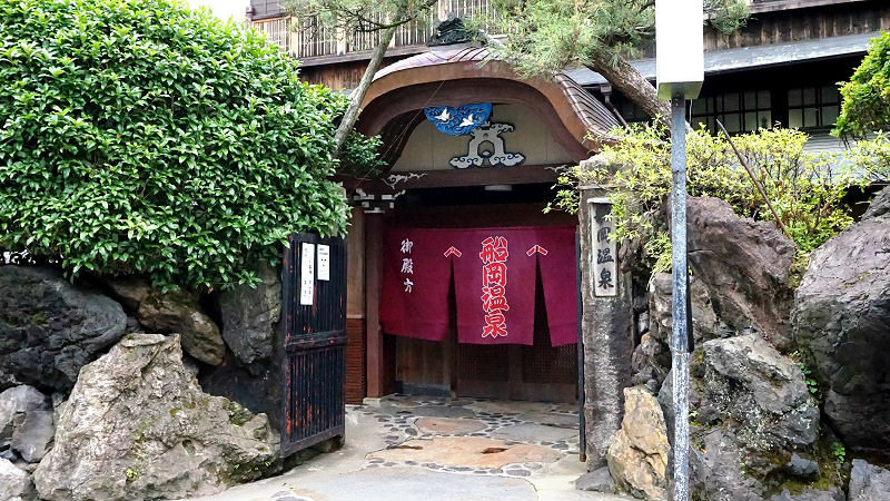Japanese public bath experience