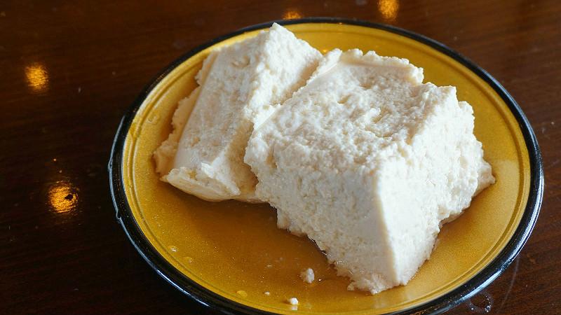 Enjoy your tofu