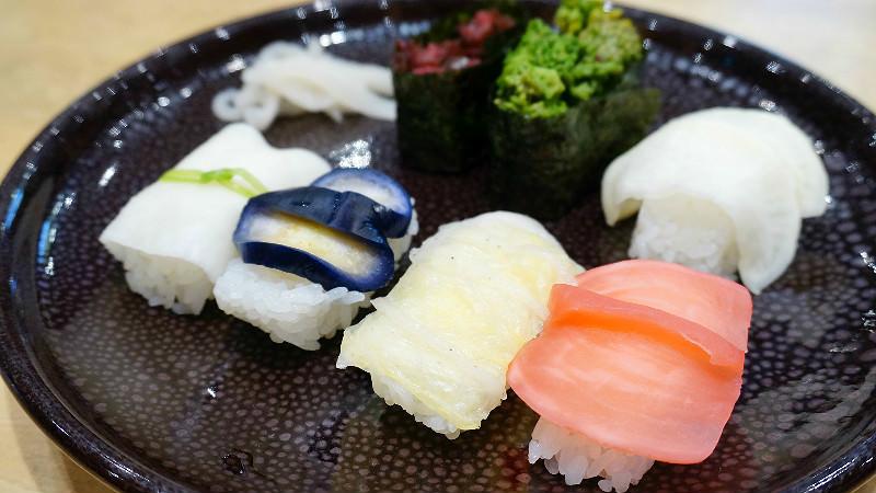 Kyo Tsukemono Sushi Tenshin