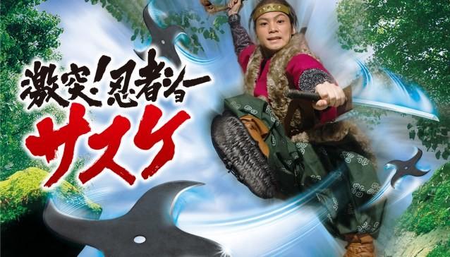 """Ninja show """"Sasuke"""""""