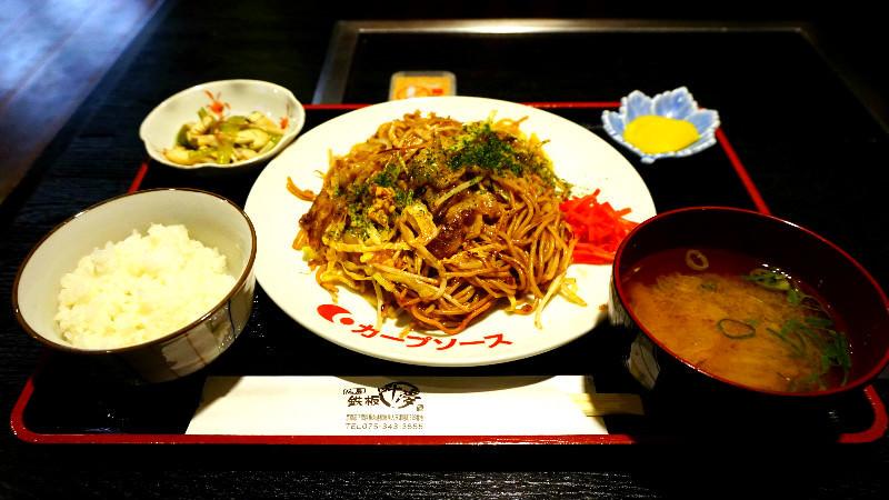 日式炒麵套餐