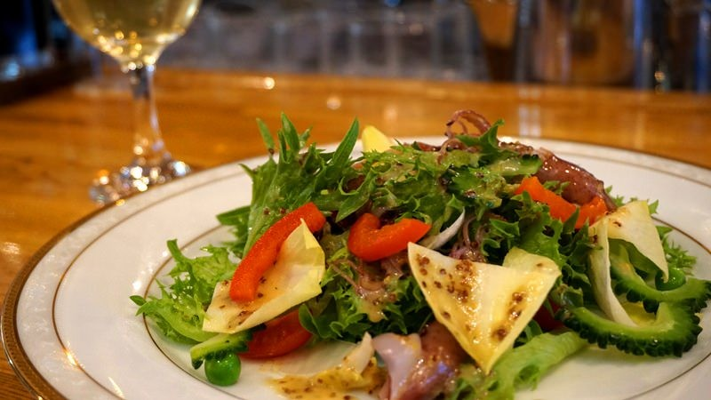 Firefly squid salad