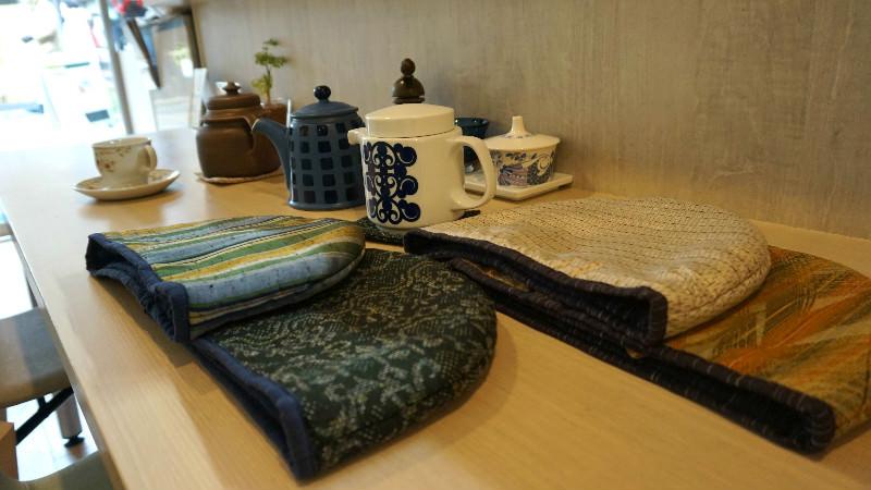 查看原創茶壺套和杯墊