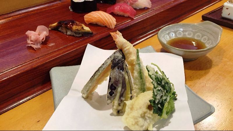 Sushi and Tempura Combo