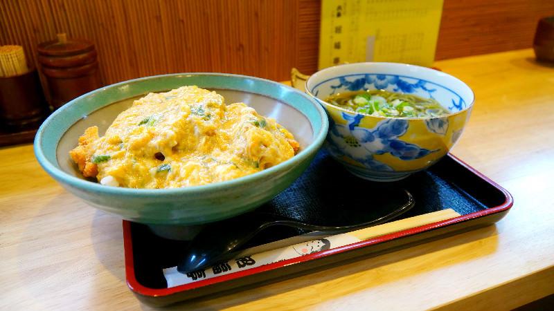 豬排丼 (含蕎麥麵)