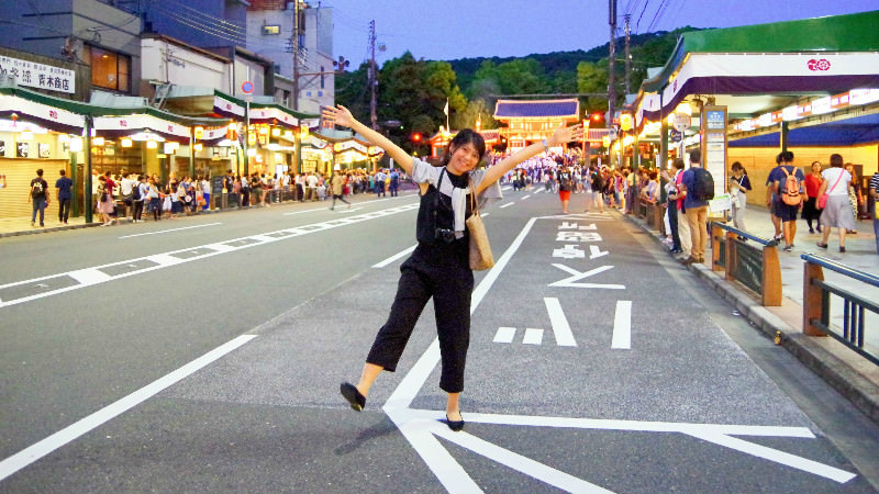 Take a delicious walk in Gion!
