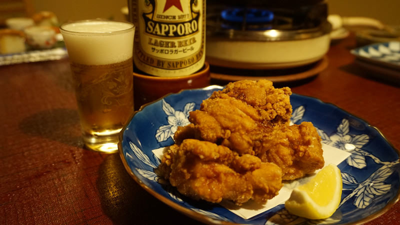 Deep-fried chicken