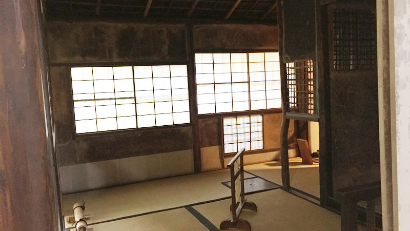 Hasso-seki (tea ceremony room)
