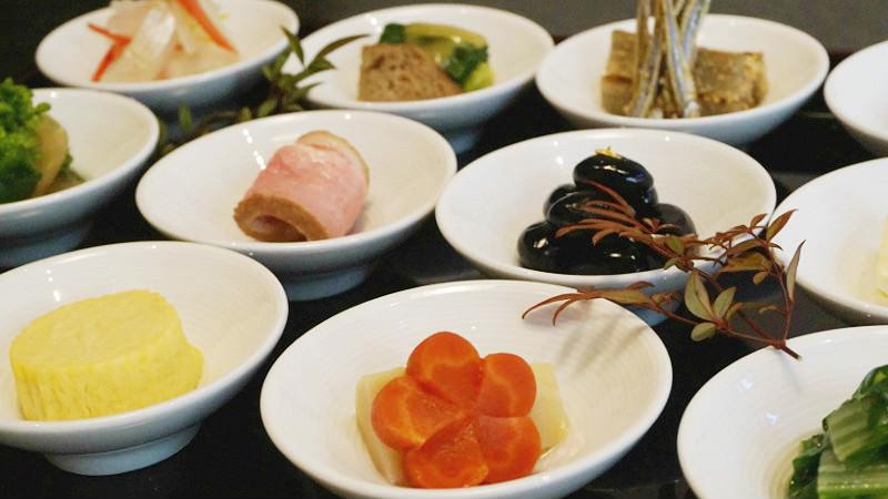 豆壽司和豆皿套餐