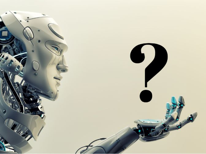 はてなマークとロボット