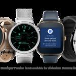 最新のAndroid Wear 2.0が搭載される6つのスマートウォッチ