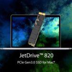 Mac互換性のある高速PCIs 3.0対応のTranscend SSDディスク発売