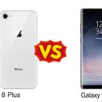 Galaxy Note 8 と iPhone 8 Plusを比較してみた