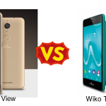 Wiko View と Wiko Tommy を比較してみた
