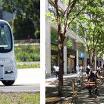 ソフトバンク、丸の内仲通りで公募の自動運転バス試乗会を実施予定