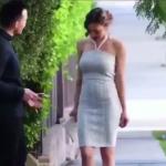 セーターが一瞬にしておしゃれなドレスに早変わりする動画が拡散される